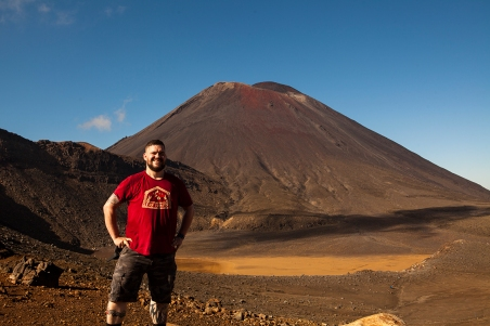 10 - Aaron at Mt Ngauruhoe.jpg