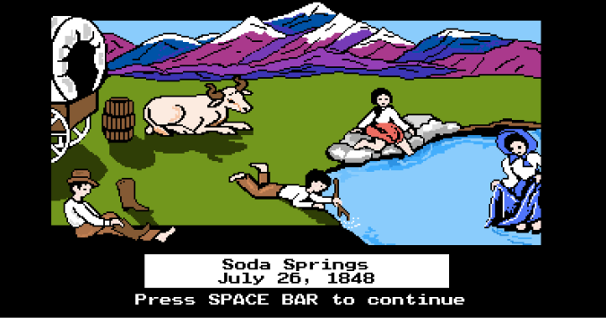 Soda Springs Oregon Trail